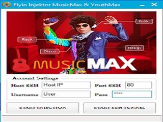 Flyin Injector Untuk Kuota Musicmax dan Youthmax di PC