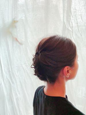 ミヤケミホのヘアセット