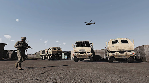 Arma3用現代軍MODのFamily of Medium Tactical Vehicles