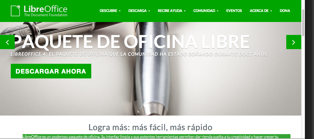 Libre Office.