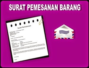 Gambar Contoh Surat Pemesanan Barang