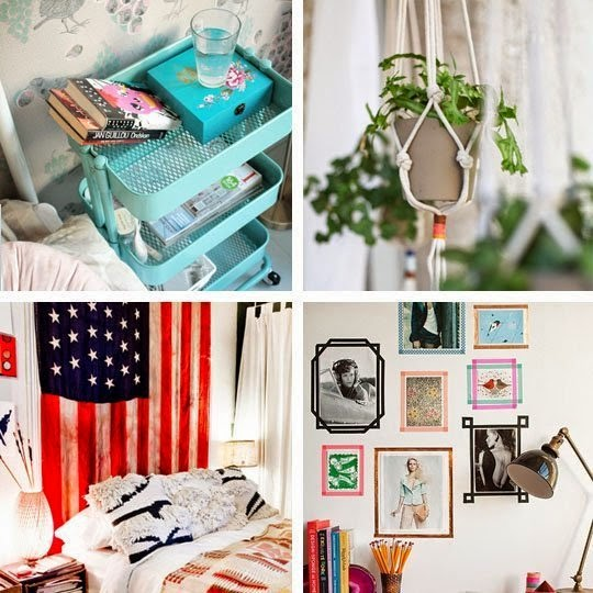 Simple Decorating Ideas To Make Your Room Look Amazing: Easciene: 25 Tips Kreatif Mendekorasi Kamar Mungilmu