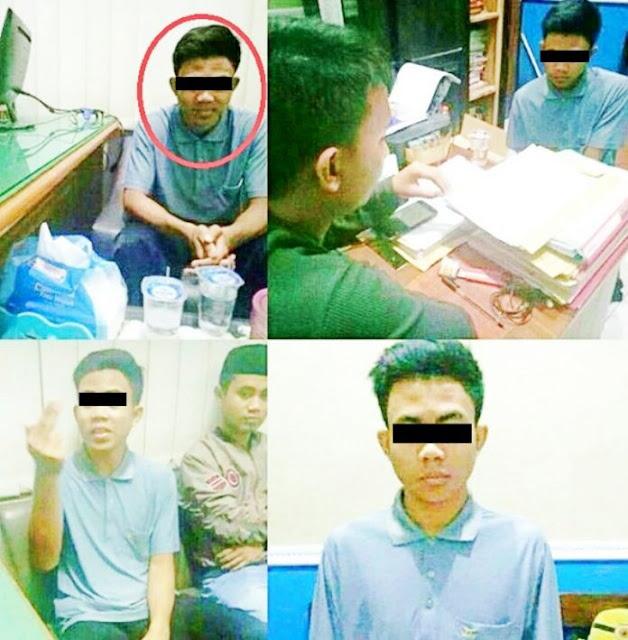Keterlaluan! Murid Pembunuh Guru Budi Masih Bisa Senyum di Kantor Polisi Berita Nasional