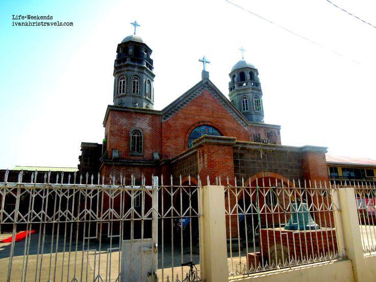 Façade of San Isidro Labrador Parish Church in San Isidro, Nueva Ecija