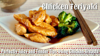 Chicken teriyaki perfectly juicy tender tips using chicken tips to make perfectly juicy and tender chicken teriyaki perfect dish to eat with white rice must try forumfinder Choice Image