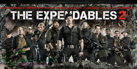 Movie : The Expendables 2 Dual Audio[ Hindi + English ]