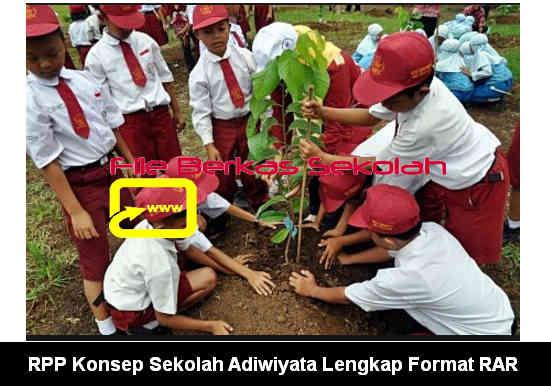Download RPP Konsep Sekolah Adiwiyata Lengkap Format RAR