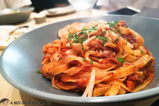 Trufa Pasta Bar is a must-try for pasta-lovers!