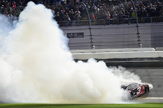 No. 3 Chevrolet Burnout at Daytona 500