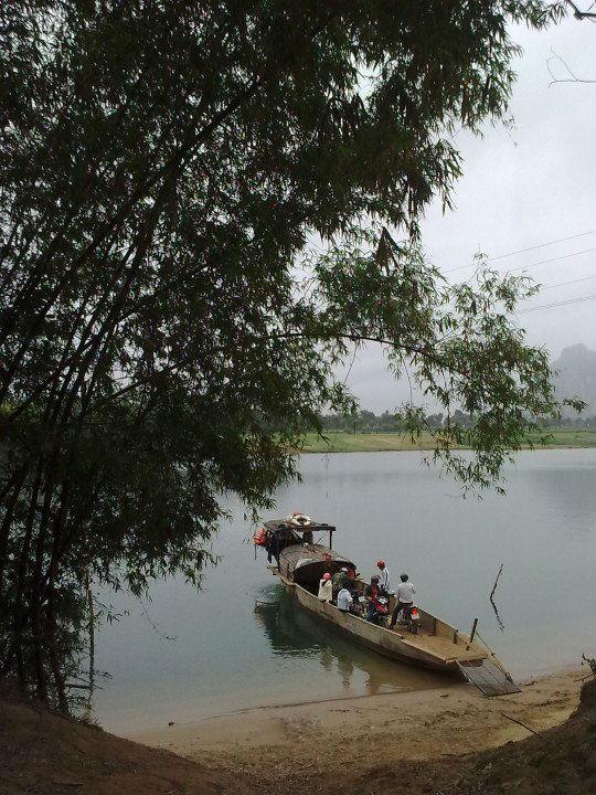Bến Đò Sảo Phong Xưa.