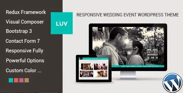 luv wordpress template
