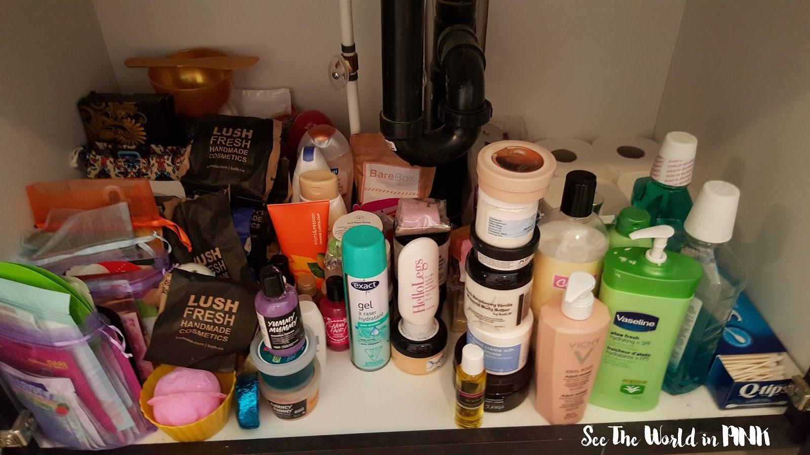 skincare storage