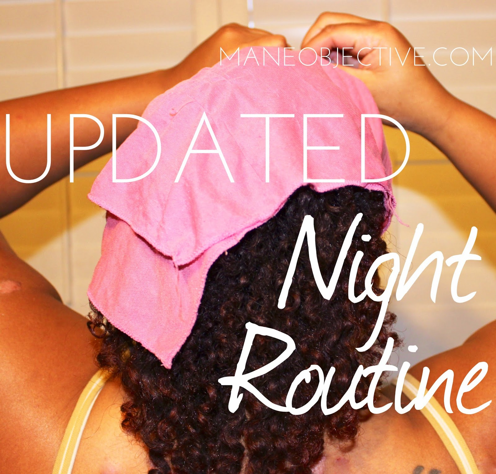Easy Nighttime Routine for Natural Curly Hair