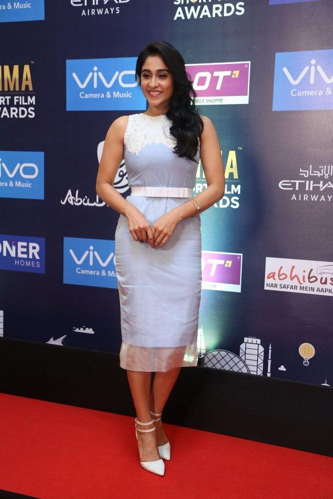 Indian Girl Regina Cassandra Stills At SIIMA Short Film Awards 2017