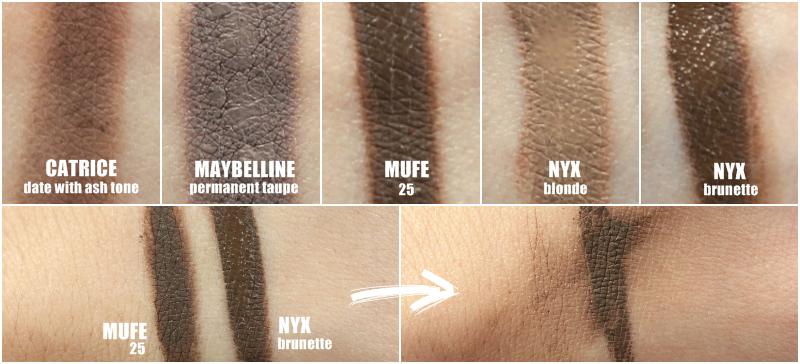 TaŃszy Zamiennik Aqua Brow I Dipbrow Pomade Nyx Eyebrow