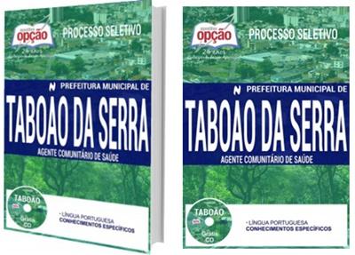 Apostila Taboão da Serra 2017 - Agente Comunitário de Saúde