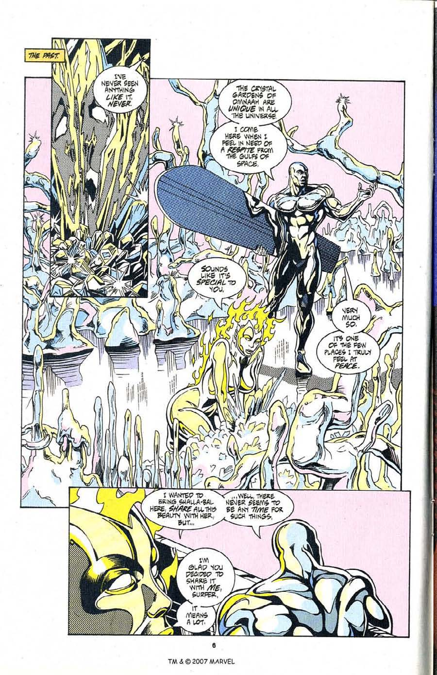 Read online Silver Surfer (1987) comic -  Issue #99 - 8