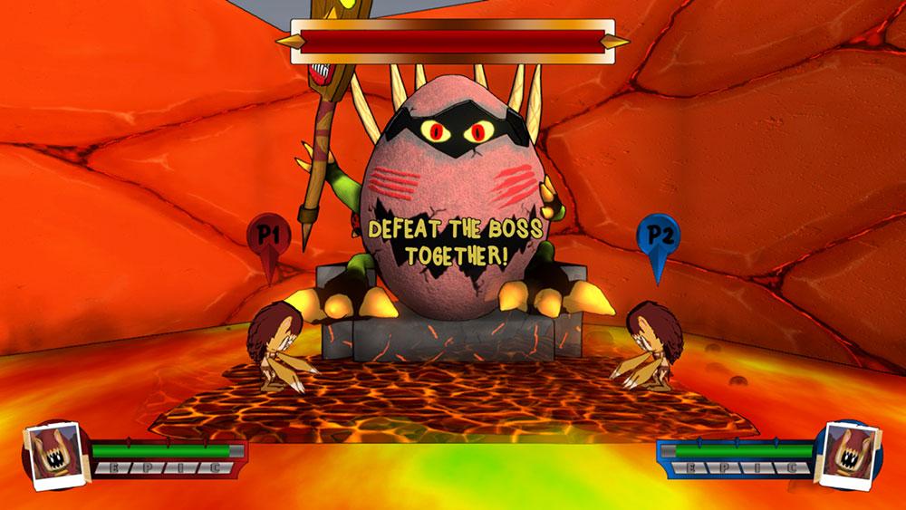 Videojuego creado Máster GamesUPM