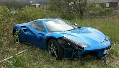 Misteri Pemilik Mobil Ferrari Rp4,2 Miliar yang Ditinggalkan