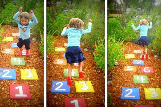 co robić z dzieckiem na podwórku