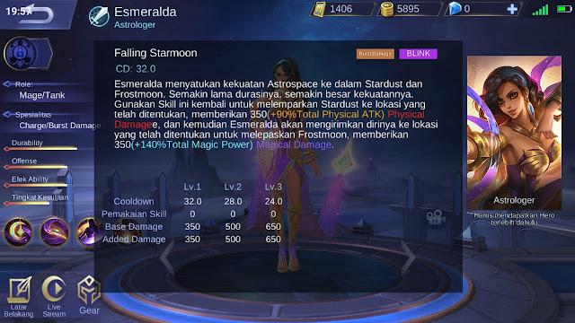 tanggal keluar hero esmeralda di original server