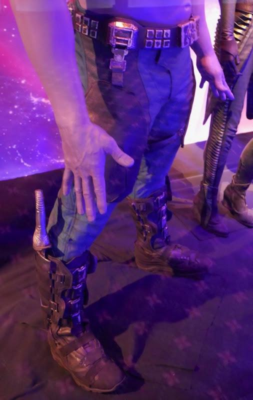 Avengers Infinity War Drax legs costume detail