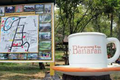Wisata Kampoeng Kopi Banaran Semarang Jawa Tengah