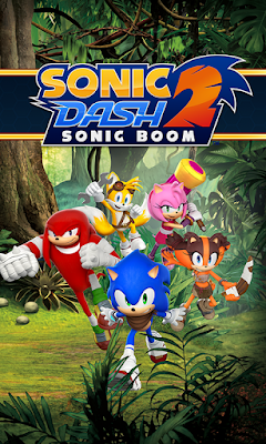Sonic Dash 2 Sonic Boom Mod Apk