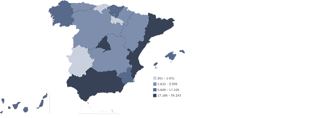 Mapa Flujo Emigrantes, francisco javier tapia, knowmadrid