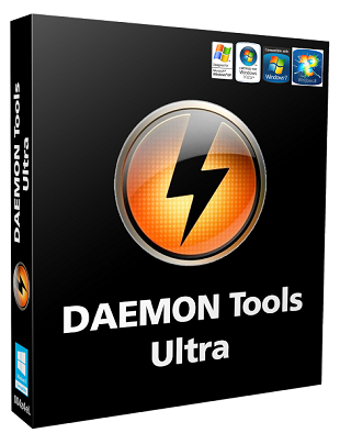 DAEMON Tools Ultra 5.1.1.0588 poster box cover