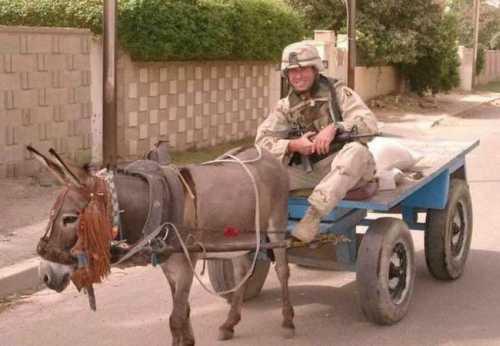 Ce nu a facut bine un soldat american in tren