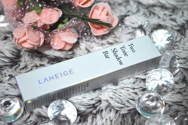laneige two tone shadow bar humming coral collaboration