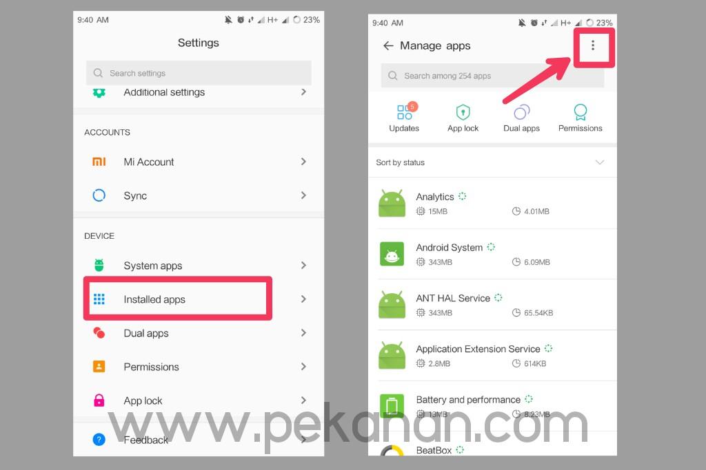 Cara Terbaru Merubah Aplikasi Default Pada Semua HP Xiaomi