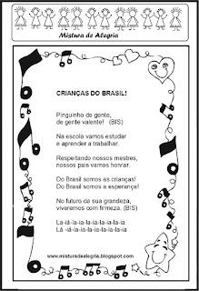 música crianças do Brasil