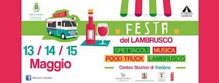 Festa del Lambrusco e Food truck 2016 viadana