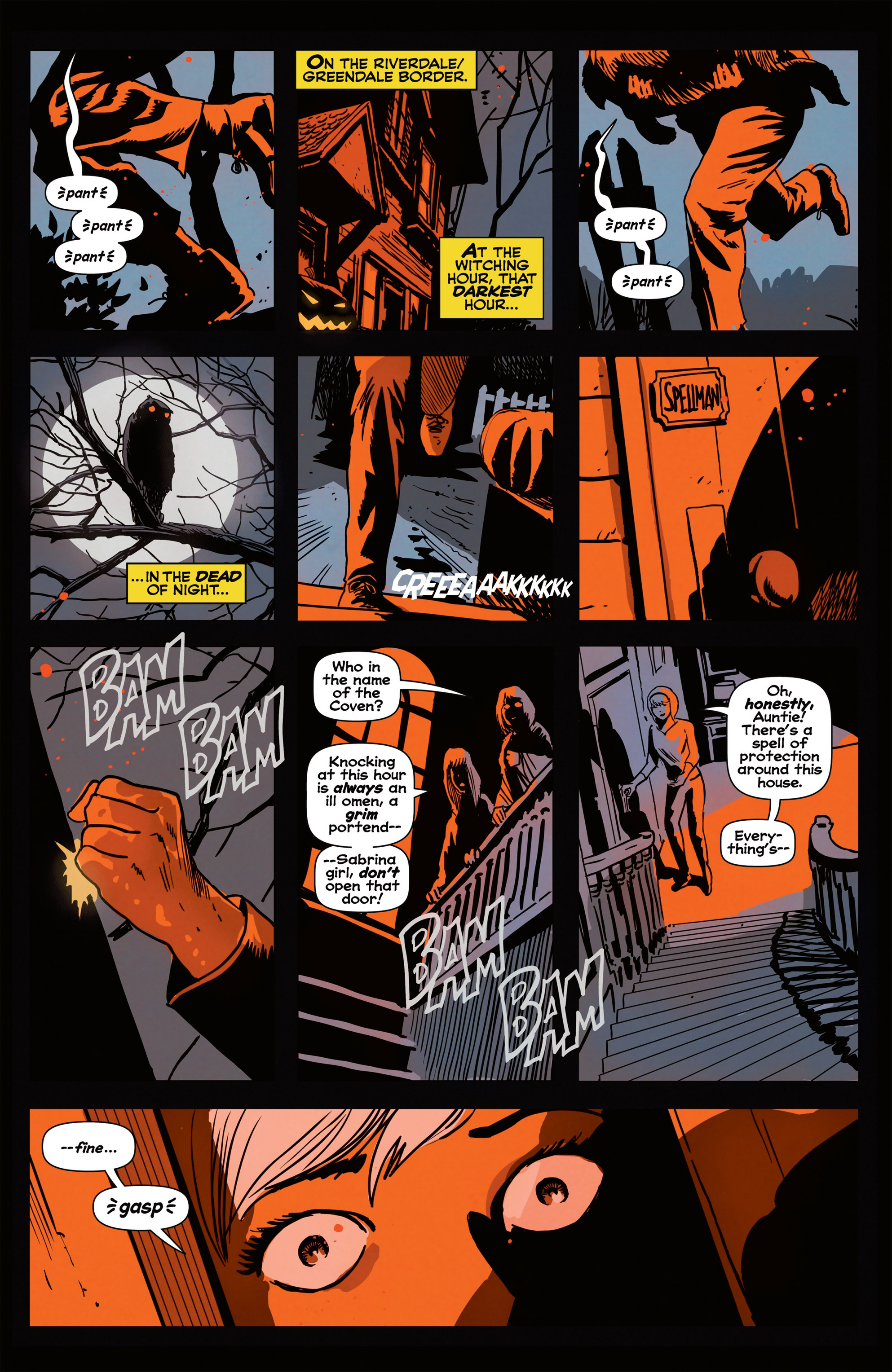 Read online Afterlife with Archie comic -  Issue #1 - 4