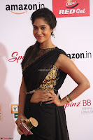Sindhu looks fabulous in Black Saree designer choli at Mirchi Music Awards South 2017 ~  Exclusive Celebrities Galleries 048.JPG