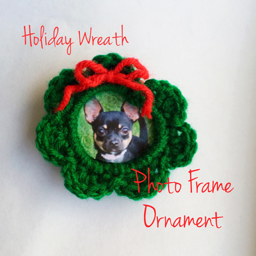 Tampa Bay Crochet Free Crochet Pattern Keepsake Holiday Wreath