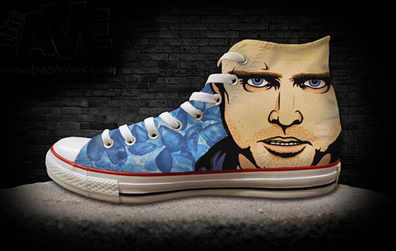 Boys White Vans Shoes