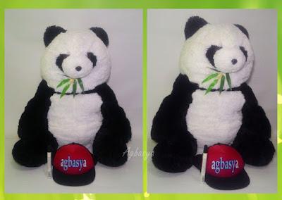 Boneka Koleksi Panda Bambu Jumbo