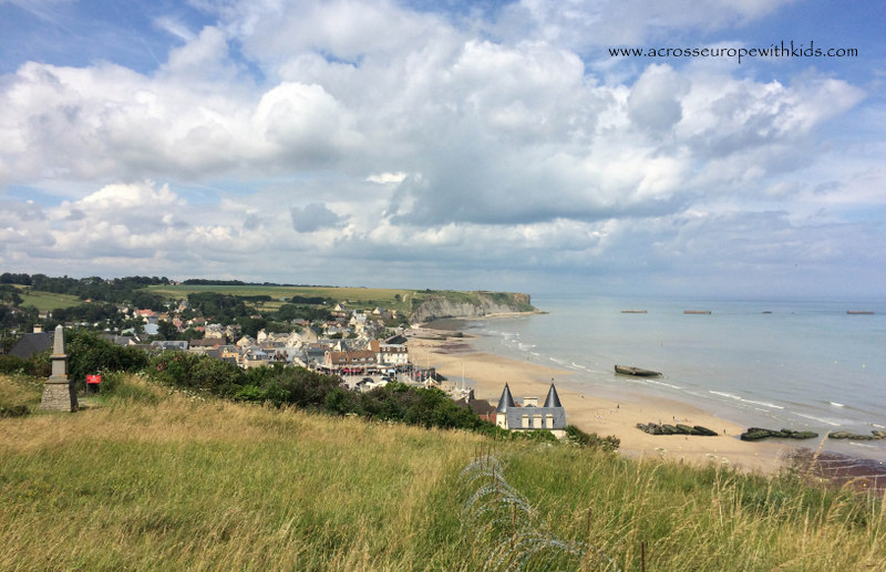plaże w Normandii Francja