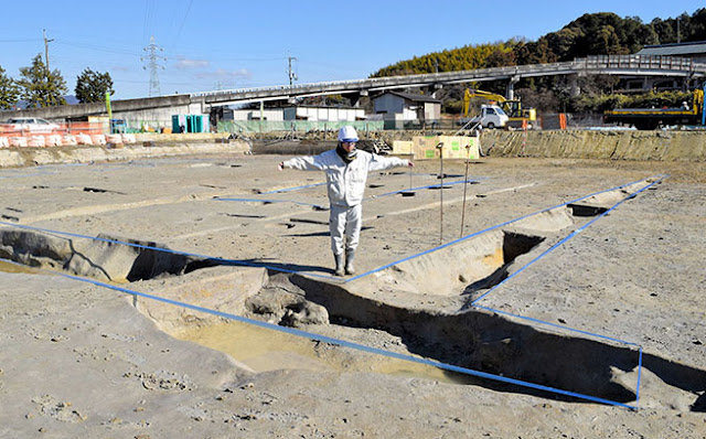 Street grid unearthed at site of mysterious ancient Japanese capital