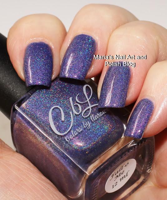 October Nail Art: Marias Nail Art And Polish Blog: Colors By Llarowe Fall-O