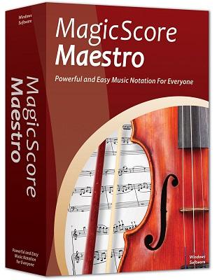 MagicScore Maestro 8.280 poster box cover