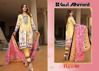Gul ahmed Original lawn Pakistani Suits wholesale Surat and Mumbai