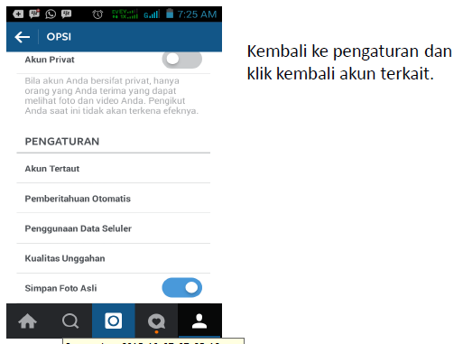 FOLLOWER Instagram Tertarget Semi Auto