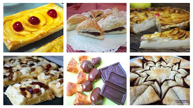 Recetas dulces con hojaldre