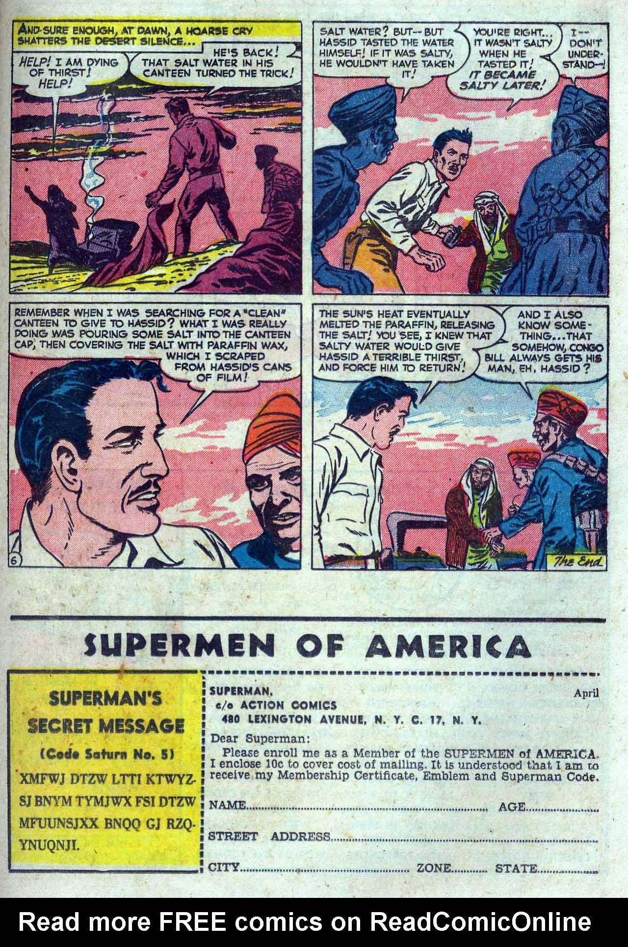 Read online Action Comics (1938) comic -  Issue #167 - 29