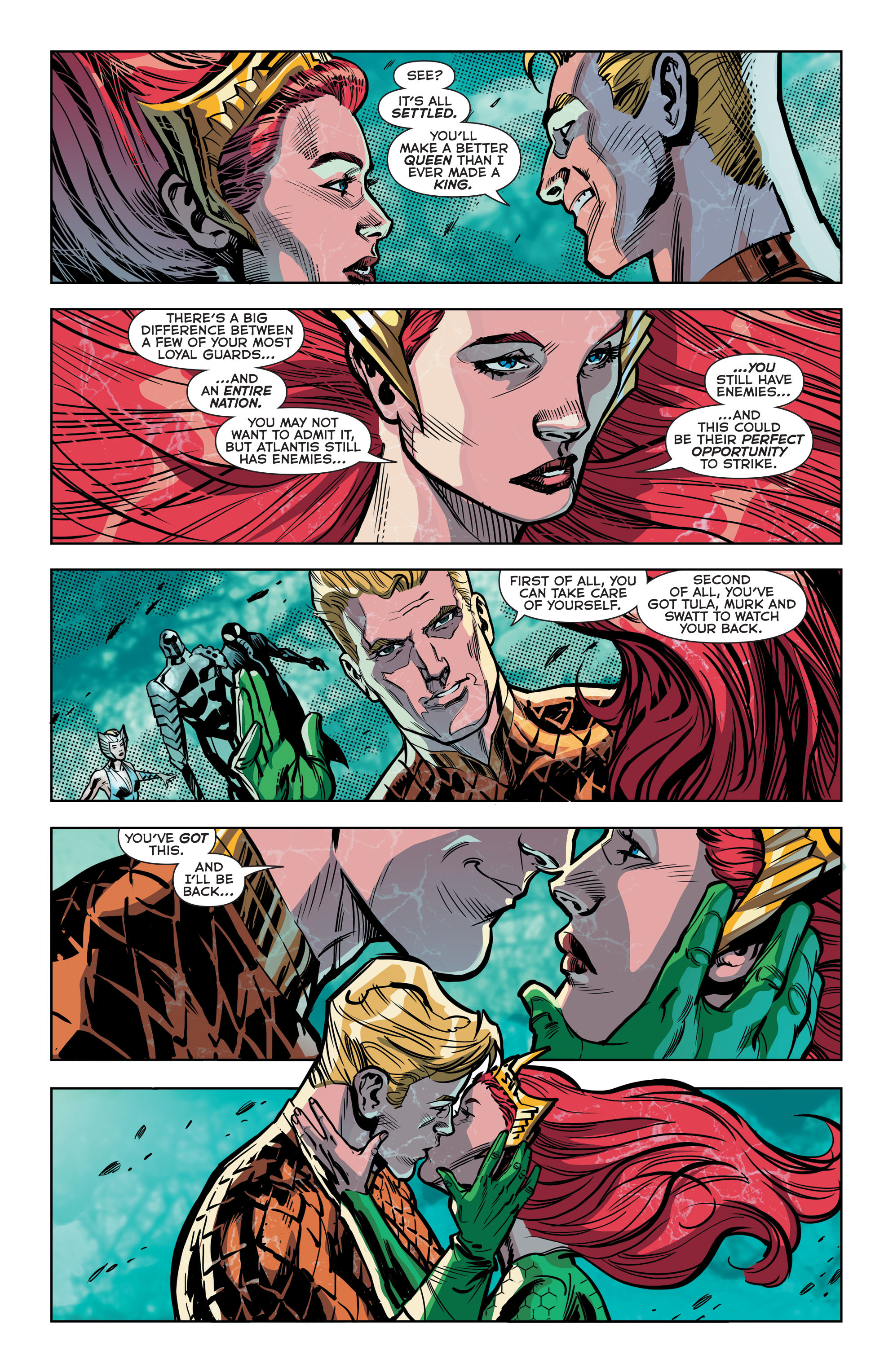 Read online Aquaman (2011) comic -  Issue #42 - 7