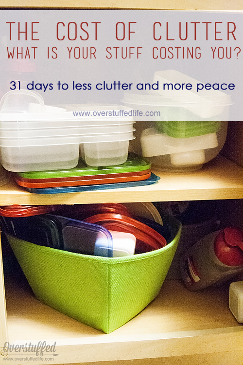 The cost of clutter—how much is your clutter costing you?